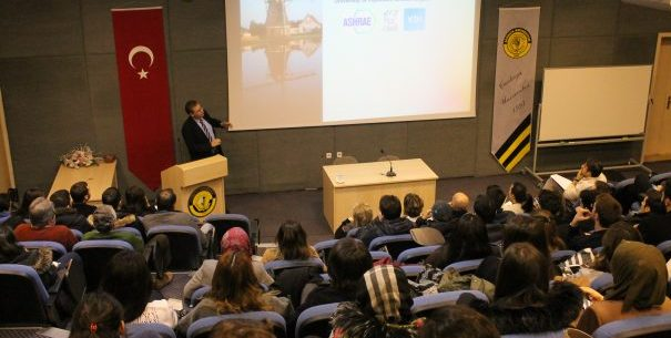 "SEMİNER: Prof. Dr. Pieter De Wilde, ""Designing Energy Efficient Building"""